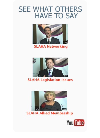 See what others have to say about SLAHA Membership